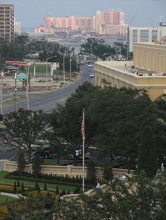 Biloxi, Mississippi.  I lived there for a short while in '86, before the gambling moved into town.