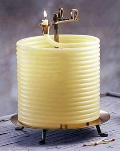Amazing candle . burning time 144 hours