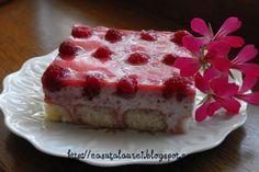 Prajitura cu capsuni si branza de vaci Yummy Cakes, Cheesecake, Pie, Desserts, Food, Torte, Tailgate Desserts, Cake, Deserts