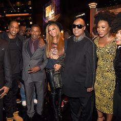 Beyoncé, Jay, Jamie Fox, Janelle Monaé, Jill Scott, LL Cool  J  ,   Stevie Wonder Songs In The Key Of Life Nokia Theatre Los Angeles California 10.02.2015