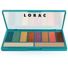 LORAC afterGlo Eyeshadow Palette - Ulta exclusive - $24. This just looks like a palette full of happy colors. Neeeeed it!