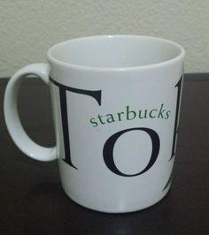Tokyo Starbucks Japan City Mug 1994 Icon Jerry Greer & Jan Belson Thailand #Starbucks
