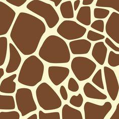 Fan Art of Giraffe Print Pattern for fans of Giraffes 40175261 Safari Party, Safari Theme, Jungle Theme, West African Giraffe, African Safari, Printable Animals, Free Printable, Animal Print Wallpaper, Giraffe Pattern