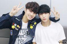 jaehwan and taekwoon.