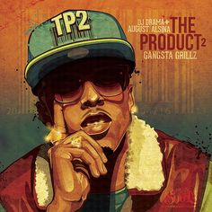 """August Alsina """"The Product 2″ (Cover Art)"""