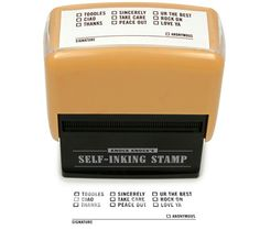 [Toodles Self-Inking Stamper] #office #products $7.99
