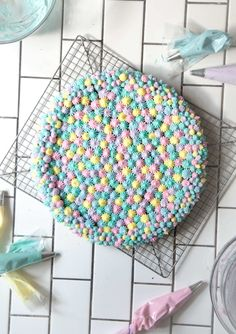 Birthday Cookie cake by Chasing Delicious | 10 Delightful Cookies - Tinyme Blog