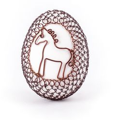 wire and  eggs