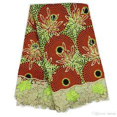 YBGLW-23 New African Wax Print Fabric,Ankara Fabrics Batik Super Hollandais Wax…