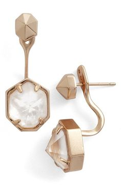 Kendra Scott 'Jordy' Drop Back Earrings available at #Nordstrom
