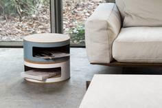 Rangement Kork S / Empilable - Ø 35 x H 15 cm Jaune - Linadura - Décoration et mobilier design avec Made in Design