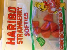 Haribo Strawberry Softies - addictive!!