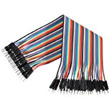 40pcs 20cm Câbles pour BreadBoard male / male - Arduino masculin jumper Fil Wire