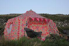 TENTS   Meet This Summer's Best New Tent – The L.O.M Luna Weekender Bell Tent