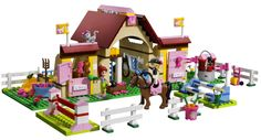 Lego Friends Heartlake Stables - fantastic Lego set for horse mad kids and girls.