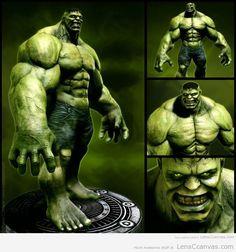 avengers, incredible hulk, artwork, painting, digital