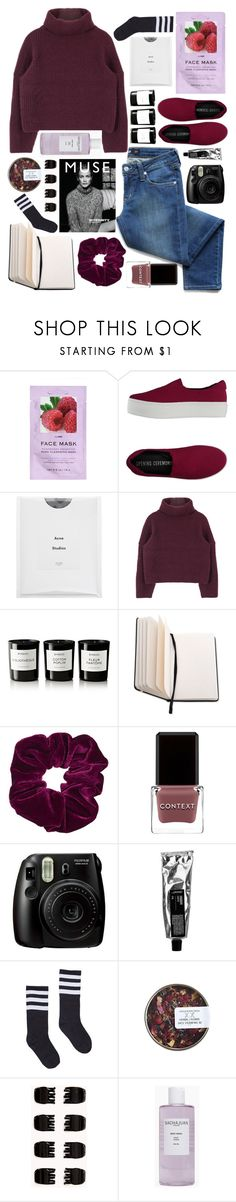 """Weightless we'll dance, like kids on the moon."" by unicornonthecobb ❤ liked on Polyvore featuring H&M, Opening Ceremony, Acne Studios, Byredo, Elite, Topshop, Context, Fujifilm, Murphy and Forever 21"