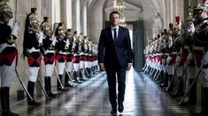 French President Emmanuel Macron walks through the Galerie des Bustes to access the Versailles Palace's hemicycle for a special congress gathering both houses of parliament in the palace of. Get premium, high resolution news photos at Getty Images French President, Former President, Placement Financier, Political Reform, Sainte Marie, Emmanuel Macron, Houses Of Parliament, Image Of The Day, France
