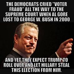 I think many of us remember this. Funny how everything that anyone else would do or has done becomes 'absurd' or 'disgusting' when Donald Trump does it, all so Hillary Clinton can go on being a criminal and steal the Presidency?