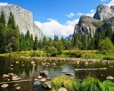 Yosemite-National-Parkock, р.Мерсед