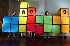 Tetris   25 Clever Halloween Costumes To Wear As A Group