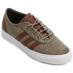 Tênis Adidas Adi Ease Class Marrom e Branco | Netshoes