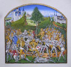 Le combat des Trente se déroula dans le Morbihan, durant la guerre de succession…