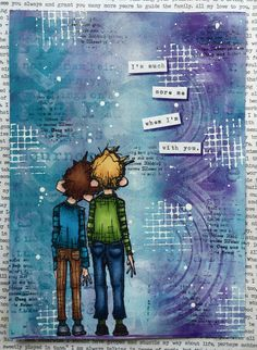 www.MadeByCHook.blogspot.nl art journal page