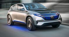 Mercedes zeigt Elektro-Generation-EQ-Konzept mit 500km Reichweite & 400PS [51 Bilder] Concepts Electric Vehicles Featured Galleries Mercedes Mercedes Concept Paris Auto Show Top 5