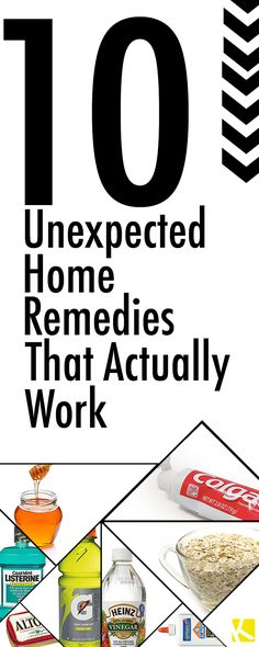 10 Unexpected Home Remedies That Actually Work