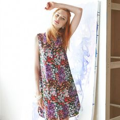 Go wild for flowers – a bold floral-print sundress never hurt anybody.