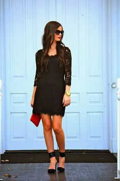 #A DVF LBD - For All Things Lovely