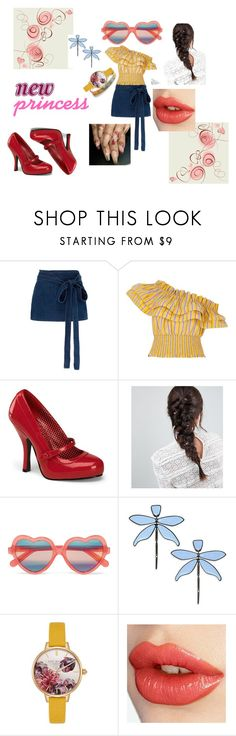 """""""New Princess"""" by bazzette on Polyvore featuring moda, J.W. Anderson, River Island, Pinup Couture, ASOS, Cutler and Gross, Tory Burch, Ted Baker e Charlotte Tilbury"""