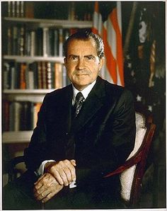 Richard Nixon 37th president of the United States