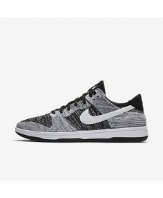 e93ba9fd374e Nike Dunk Low Flyknit Black White 917746-003 Mens Nike Air