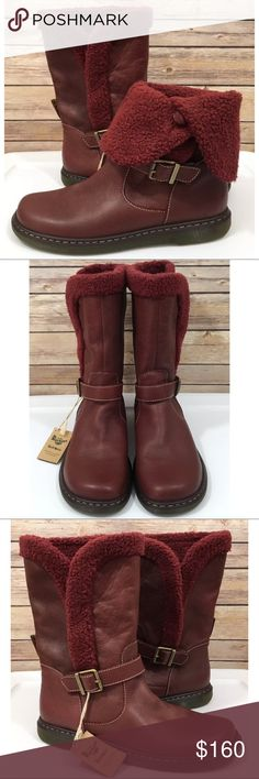 b4123134480 Martens Leather Calf Boots BRIELLE Boots are new without tags or box. These  boots show sizing for both men and women. SZ 10 for Men and 11 for Women.
