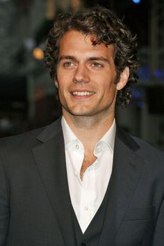"""Henry Cavill.. """"His too long locks falling into his face."""" Let him be Christian PLEASE!!!!!!!!!!!!!!!!!! For the love of my vagina!!!"""
