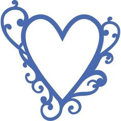 Kaisercraft Flourish Heart Die