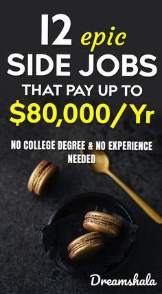 12 epic side jobs that pay up to 80000 per year 12 epic side jobs that pay up to 80000 per year jobs Ways To Earn Money, Earn Money From Home, Earn Money Online, Online Jobs, Way To Make Money, Quick Money, Online Cash, Win Online, Online Blog