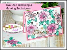 Penned and Painted Stampin Up card and video by Sandi at stampinwithsandi.com