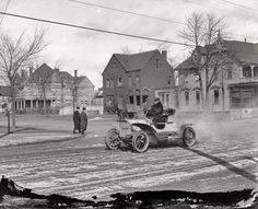 Jefferson Ave. & E. Grand Blvd., Detroit, 1910
