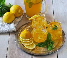 Lemon Basil Kombucha  This is the perfect spring drink