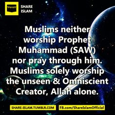 """Also the Holy Qur'an states: """"Do not associate aught with Allah; most surely polytheism is a grievous inequity."""" (Surah Luqmān 31:13). """"And whoever associates anything with Allah, he devises indeed a great sin."""" (Surah an-Nisā' 4:48)"""
