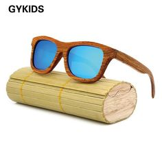 d15ebe4038 fashion Products Men Women Glass Bamboo Sunglasses au Retro Vintage Wood  Lens Wooden Frame Handmade Ladies