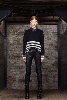 Diesel Black Gold Pre-Fall 2013 Fashion Show - Elsa Sylvan