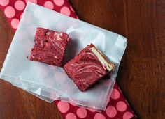 Red Velvet Swirl Brownies by niftyfoodie, via Flickr