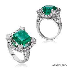 Перстень с Изумрудом A ring with an Emerald #ring #арт #art #алмаз #перстень #фотограф #красота #бриллиант #мода #almaz #fashion #купить #кольцо #jewelry #photographer #ярмарка #цветы #gemstone #exclusive #москва #украшения #эксклюзив #подарок #ювелир #handmade #diamond #gallery #галерея #emerald #изумруд Jewelry Art, Jewelry Rings, Jewelery, Vintage Jewelry, Jewelry Design, Emerald Ring Vintage, Emerald Jewelry, Gemstone Jewelry, Multi Coloured Rings