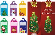 image result for free printable christmas bookmarks