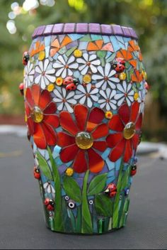 Revive an ugly vase for the base