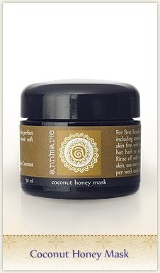 Annmarie Gianni Coconut Honey Mask — actually love her whole LINE of super clean skincare products!
